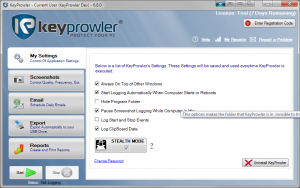 KeyProwler 7.1.0 - náhled
