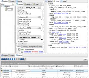 MaxDB Code Factory 12.3 - náhled
