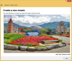 Mosamic 1.3.1 - náhled