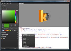 Kaxaml 1.8 - náhled