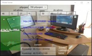Scanner IP online kamer - náhled