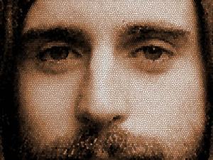 Mosaic Jesus - velký náhled - náhled