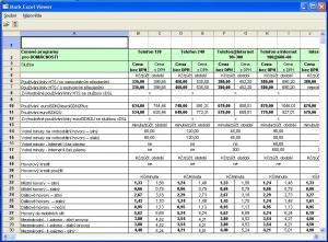 Mark Excel Viewer - náhled
