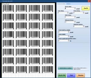 BarCode Generator - náhled