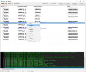 MiTeC TAPI Monitor - náhled
