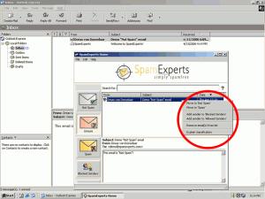 SpamExperts Desktop 1.2.0.23 - náhled