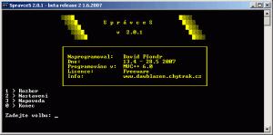 SprávceS 2.0.3 - náhled