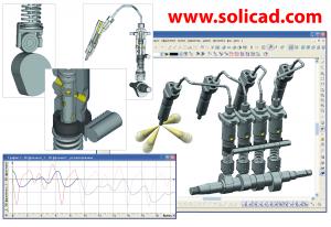 T-FLEX 3D Dynamics - CAD analýza a simulace pohybu 12.0.62.0 - náhled