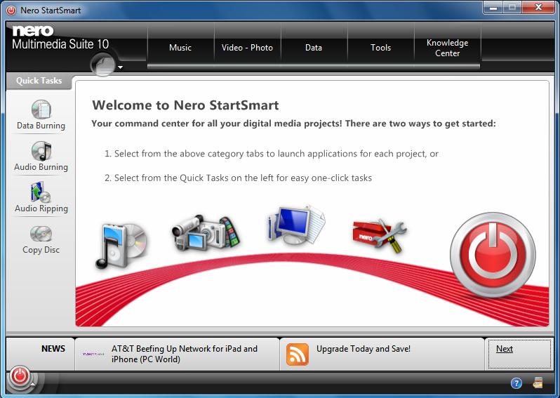 nero smart download for windows 7