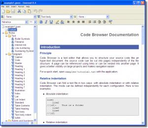 Gwennel Doc 0.12 - náhled