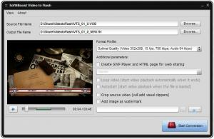 Soft4Boost Video to Flash 6.3.9.255 - náhled