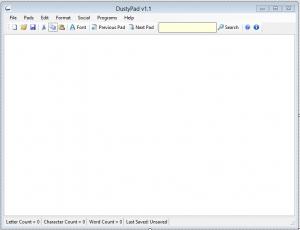 DustyPad 1.1 - náhled