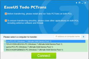 Todo PCTrans Free 8.0 - náhled
