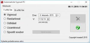 Automatické Vypnutí PC