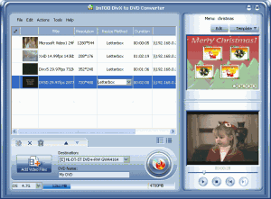ImTOO DivX to DVD Converter 3.0 - náhled