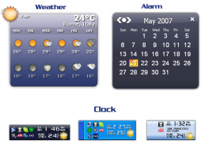 Weather Clock 4.3 - náhled