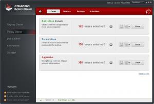 Comodo System Cleaner 3.0.172695.53 - náhled