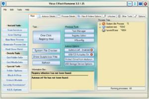 Virus Effect Remover 3.2.2.26 - náhled