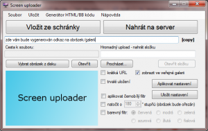 Screen Uploader 1.4 - náhled