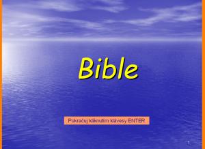 Bible - nový zákon (pro děti) 7.0 - náhled