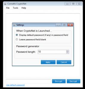 CryptoNet 1.0.0.3 - náhled
