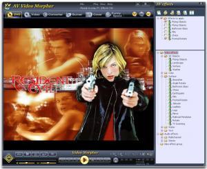 AV Video Morpher 3.0.53 - náhled