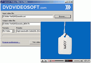 Free Video to Flash Converter 2.3 - náhled