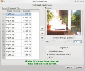 Luminance HDR 2.4.0 - náhled