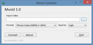 Muvid Video Converter 1.0 - náhled