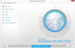 Ashampoo Burning Studio FREE 1.14.5 - náhled