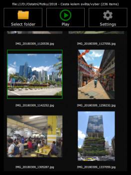 Smart Multimedia Presenter (SMP) - náhled
