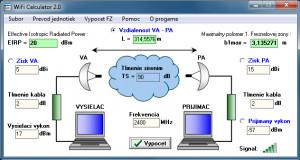WiFi Calculator 2.0 - náhled