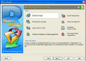 R-Drive Image 6.1 build 6108 - náhled