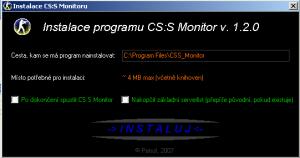CS:S Monitor 1.2.0 - náhled