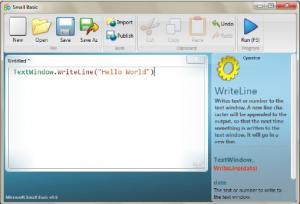 Microsoft Small Basic 0.95