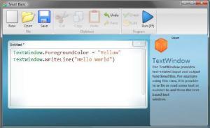 Microsoft Small Basic 0.95 - náhled