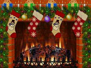 3D Christmas Fireplace Screensaver 1.3.2 - náhled