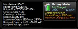 Battery Meter 2.1 - náhled