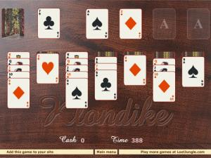 Klondike Solitaire - náhled