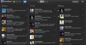 TweetDeck 3.3.8 - náhled