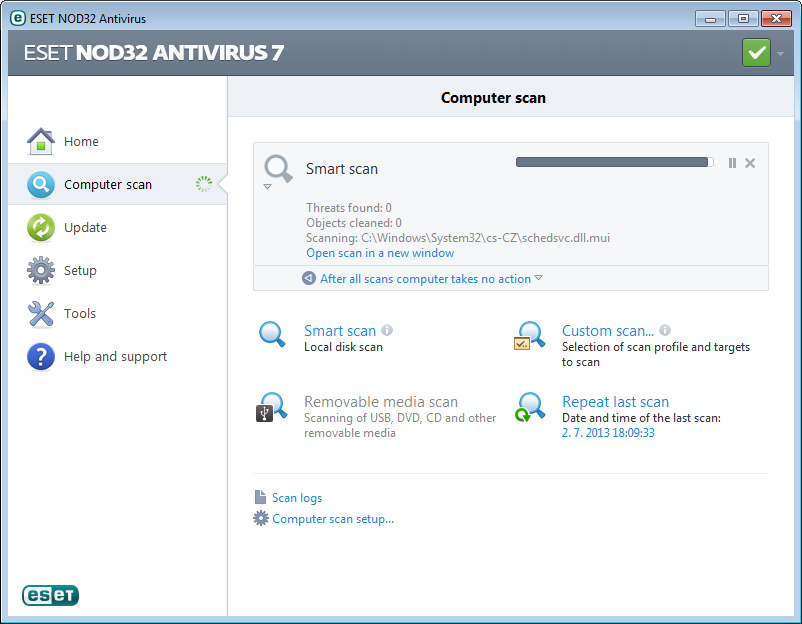 Eset nod32 anti virus 3.0.684