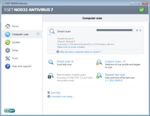 ESET NOD32 Antivirus 10.1.204.1 - náhled
