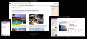 Microsoft OneNote 2013 - náhled