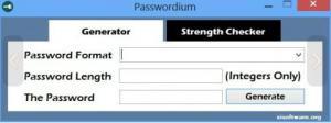 Passwordium 1.0 - náhled