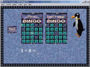 Penny Penguin's Math Bingo - náhled