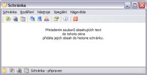 Schránka 2.0.0.2 - náhled
