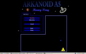 Arkanoid A5 - Heavy Pong - náhled