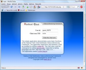 Radical Flash Chat 1.0.0.1455 - náhled