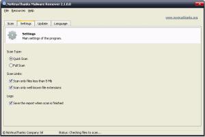 NoVirusThanks Malware Remover 2.7.0 - náhled