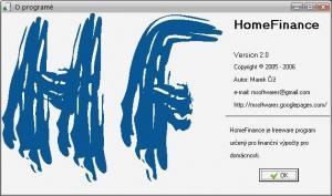 HomeFinance 2.0 - náhled